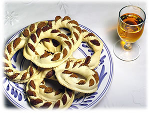 Traditional pastry from the Azores islands